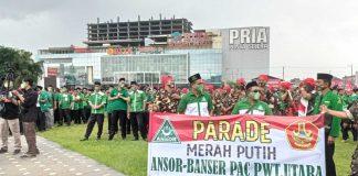 Parade Merah Putih PC GP Ansor Banyumas