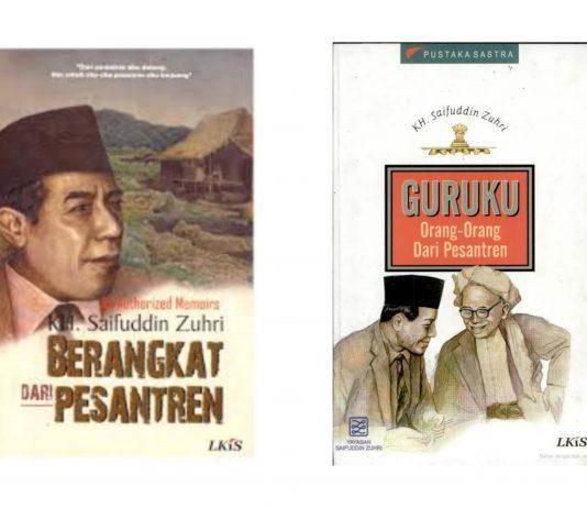 inilah buku buku karya KH Saifuddin Zuhri