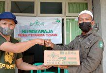 MWC NU Sokaraja mengadakan NU Sokaraja peduli bekerjasama dengan banom